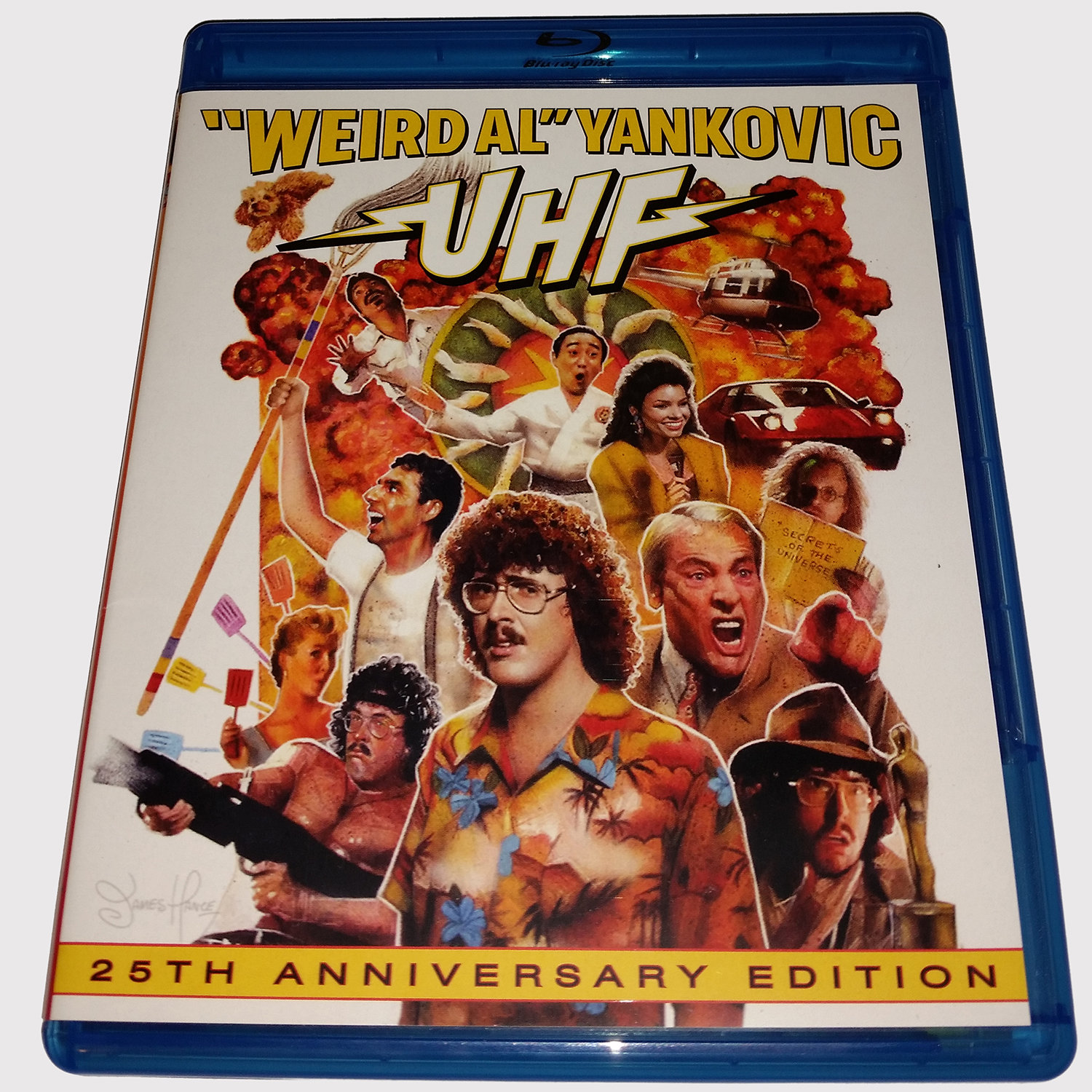 UHF 25th Anniversary Edition Blu-ray Review
