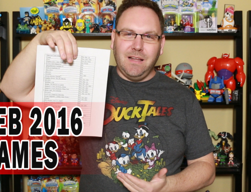 Hot Video Games February 2016