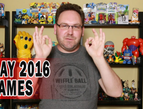 Hot Video Games May 2016