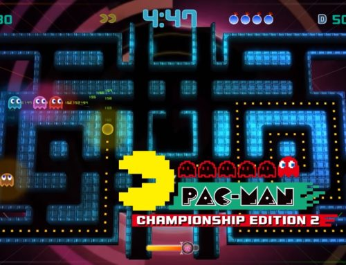Chomping Ghosts in Pac-Man Championship Edition 2