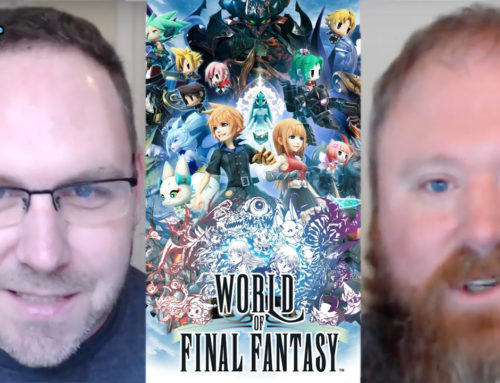 World of Final Fantasy Review and Gameplay