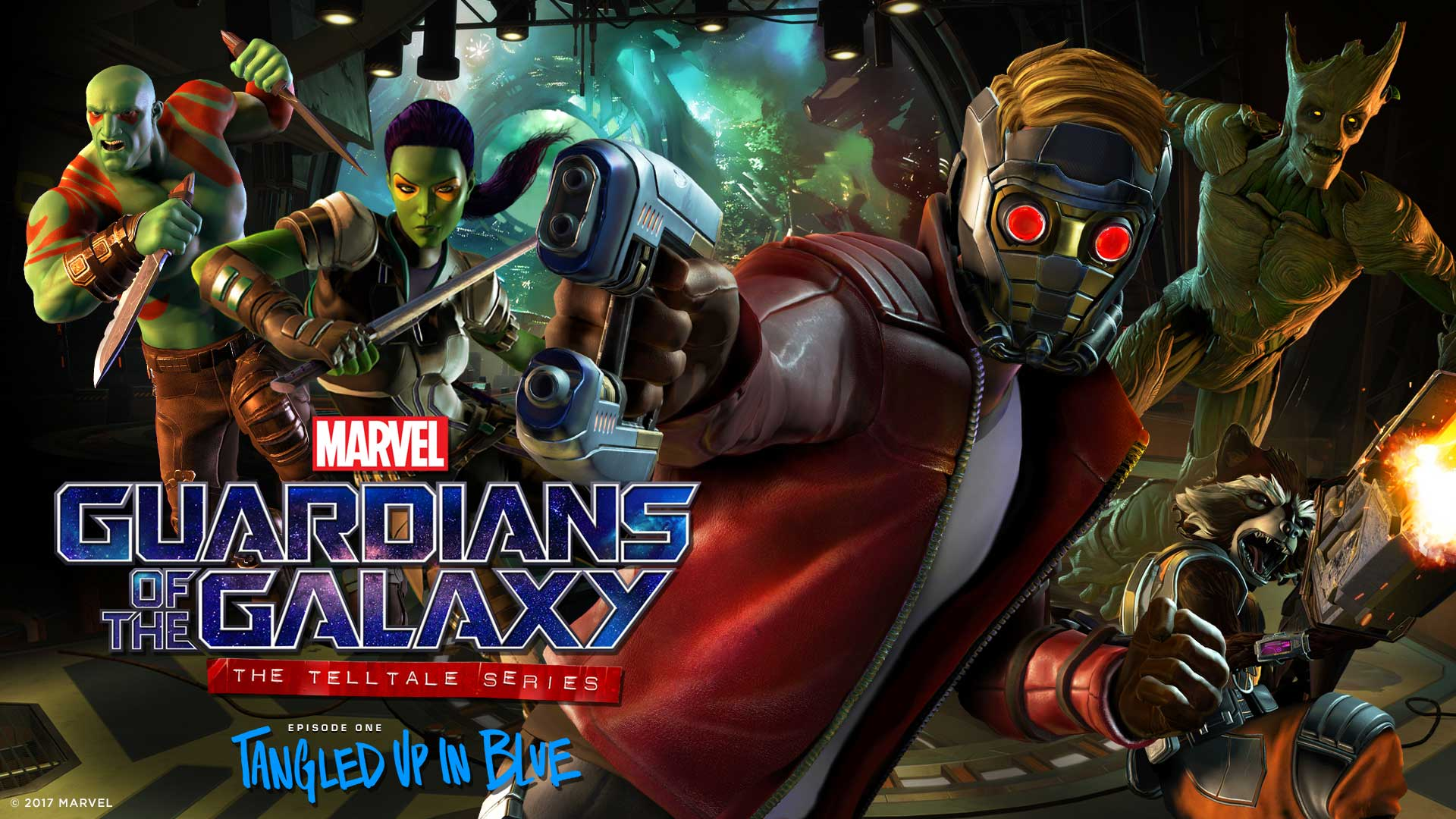 guardians of the galaxy telltale ep1 tangled up in blue