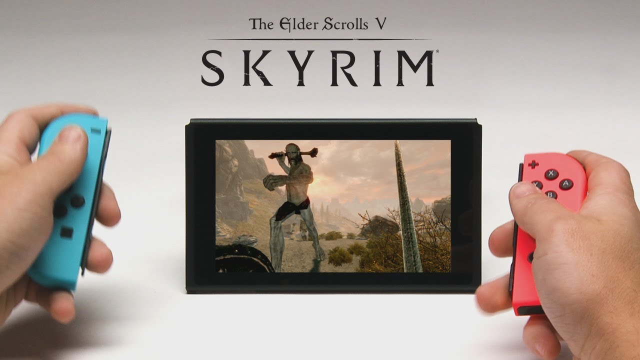 skyrim nintendo switch preview